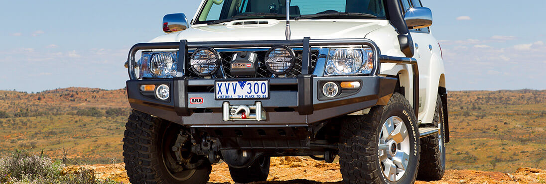 Arb 44 accessories nissan patrol gu y61 2004 present bull bars and protection equipment aloadofball Image collections