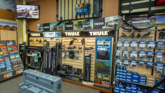 ARB Caboolture store interior