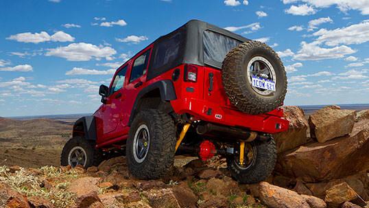 ARB rear bumper achterbumper