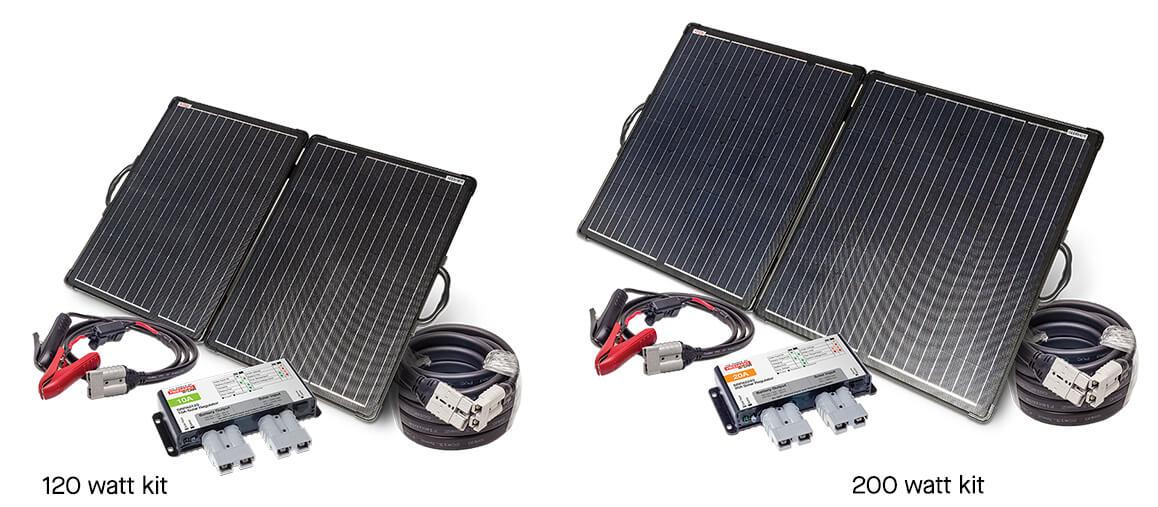 Redarc Folding Solar Panel kits