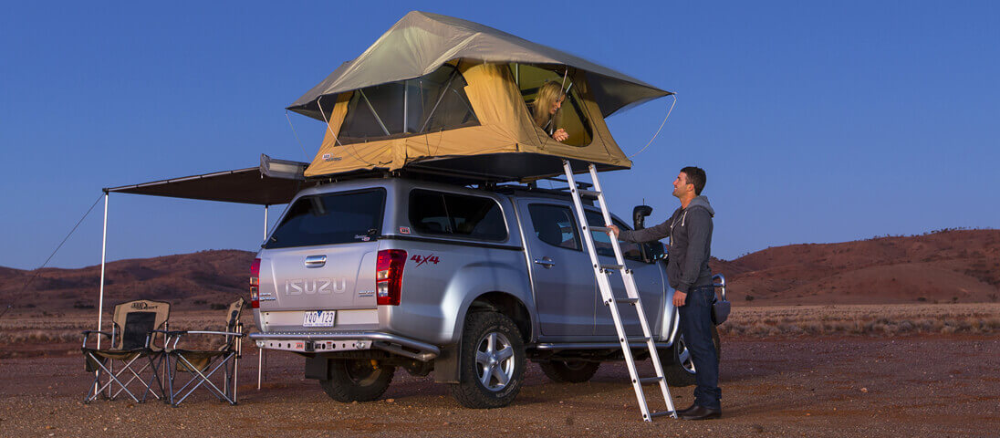 Aluminium Ladder & ARB 4×4 Accessories | Rooftop Tents - ARB 4x4 Accessories