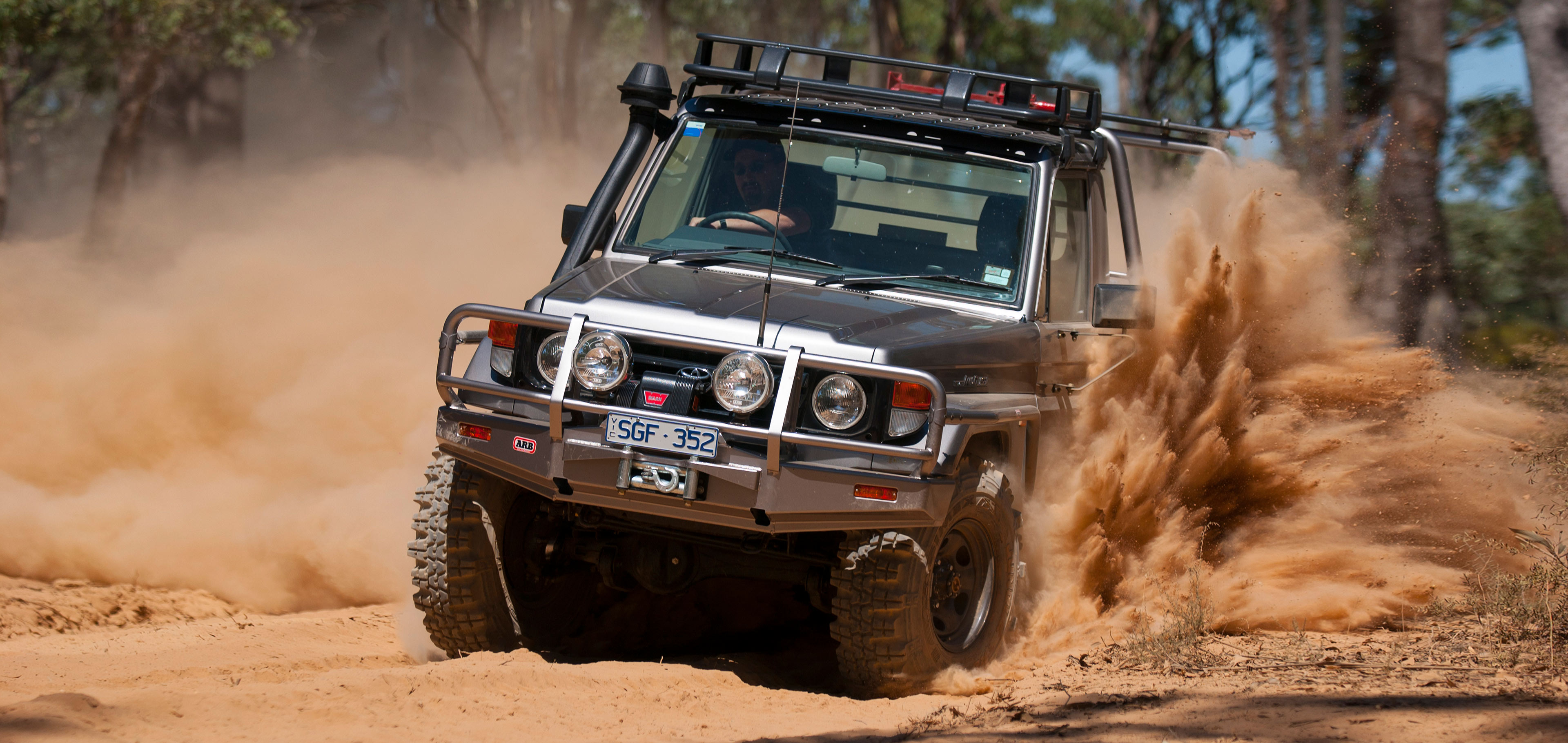 Toyota Land Cruiser 70 >> ARB 4×4 Accessories | Recovery Points - ARB 4x4 Accessories