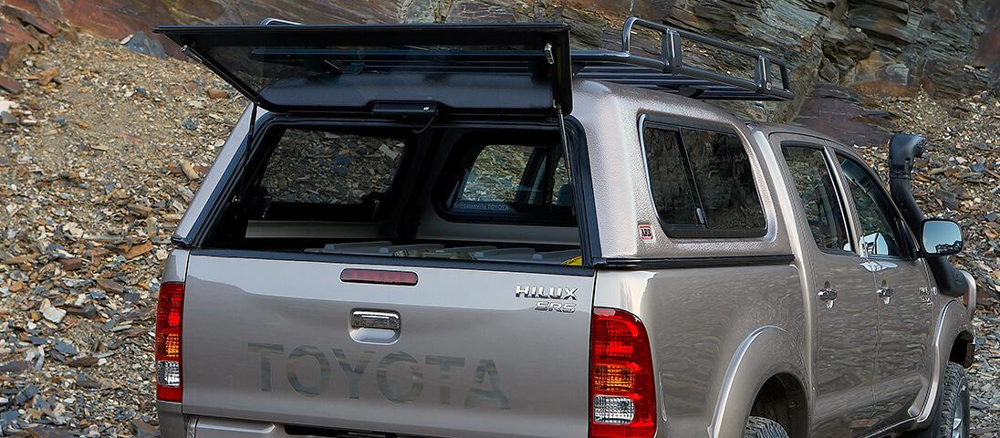 1 & ARB 4×4 Accessories   Toyota Hilux 2005-2011 Canopies - ARB 4x4 ...