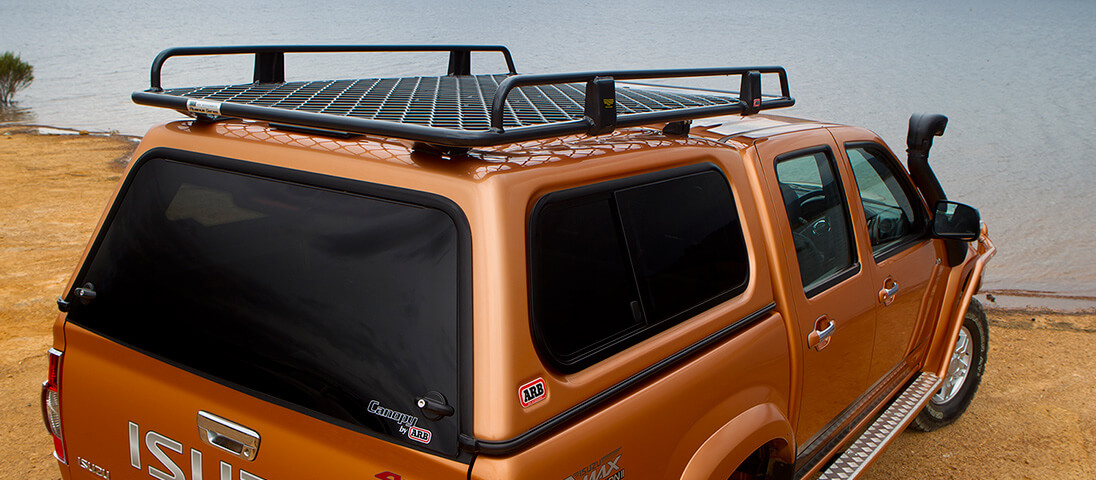 ARB 4×4 Accessories | Roof Racks Isuzu D-MAX 2010-2012 ...