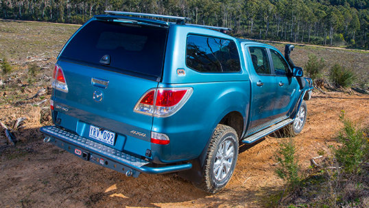 Arb 4 215 4 Accessories Tow Bars Rear Protection Mazda Bt