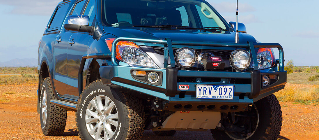 ARB 4×4 Accessories | Deluxe Bull Bar - ARB 4x4 Accessories