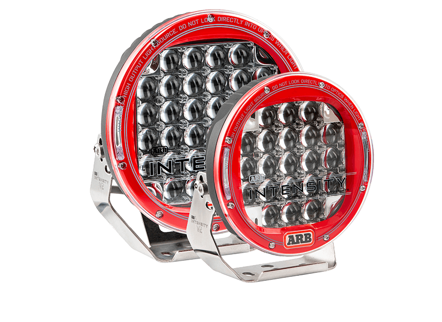 Intensity LED V2 Driving Light Range Features