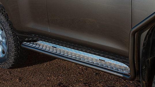 All Toyota Models >> ARB 4×4 Accessories | Side Rails & Side Steps Landcruiser ...