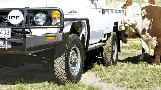 Toyota Land Cruiser 70 >> ARB 4×4 Accessories | Side Rails & Side Steps - ARB 4x4 Accessories