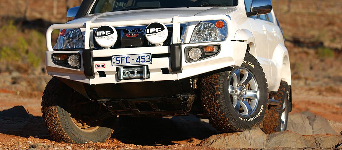 Toyota Landcruiser Prado Suspension