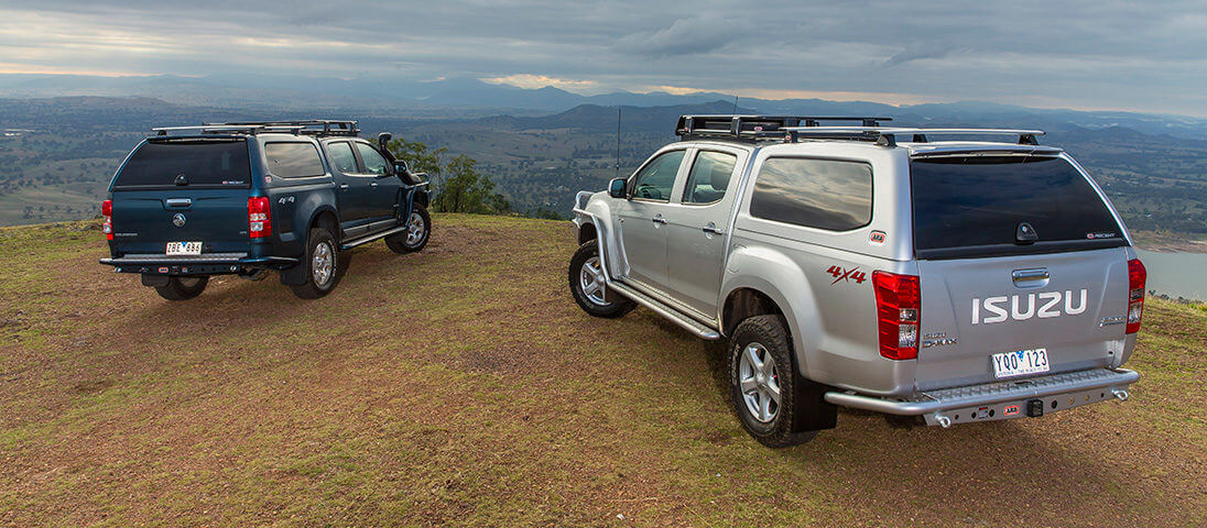 D-Max and Colorado Join Ascent Canopy Range