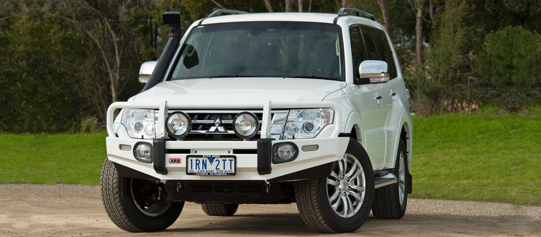 Arb 44 accessories nx pajero bull bar released arb 4x4 search the blog aloadofball Image collections