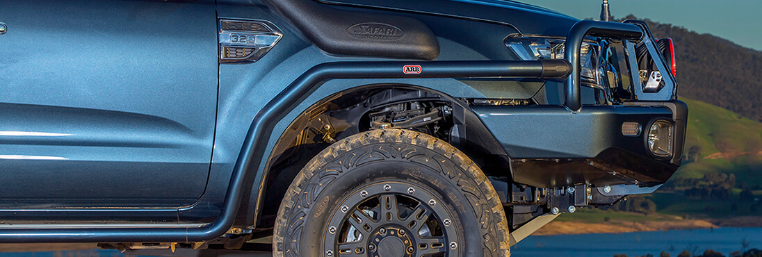Side Protection For Ford Ranger PX MkII 2015