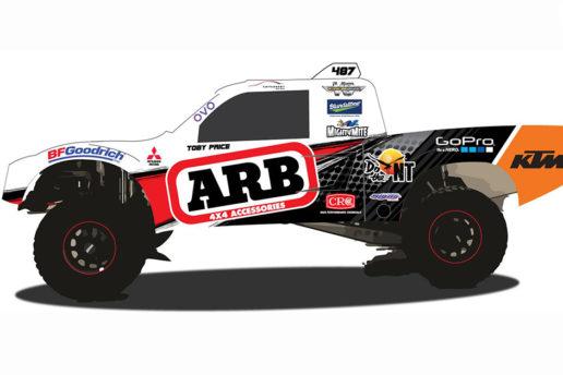 ARB backs The King of the Desert for Finke 2016