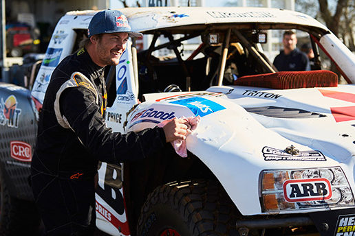 Toby Price Retains his 'King of the Desert' Title in a Record-Breaking Finke Outcome