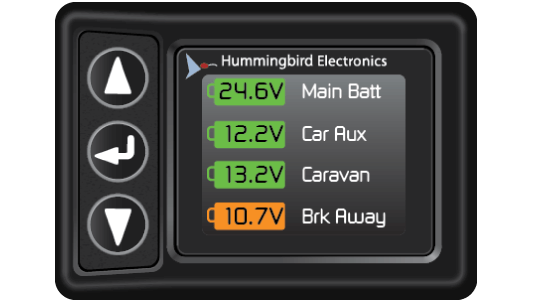 Hummingbird Battery Monitor