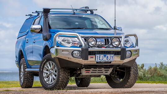ARB Alloy bull bar for the Mitsubishi Triton