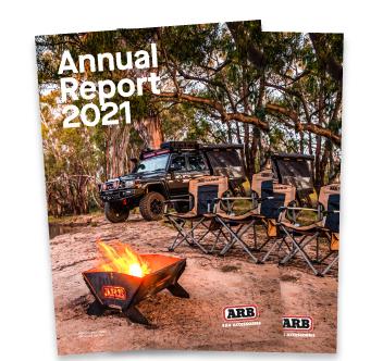 ARB 2021 Annual Report