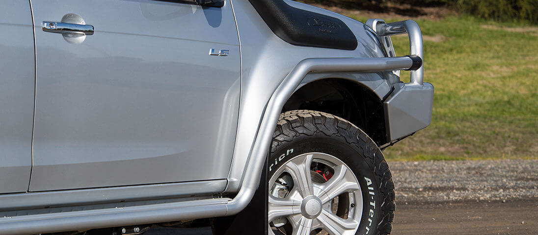The Isuzu D-MAX 2016+ Steps Up Its Protection