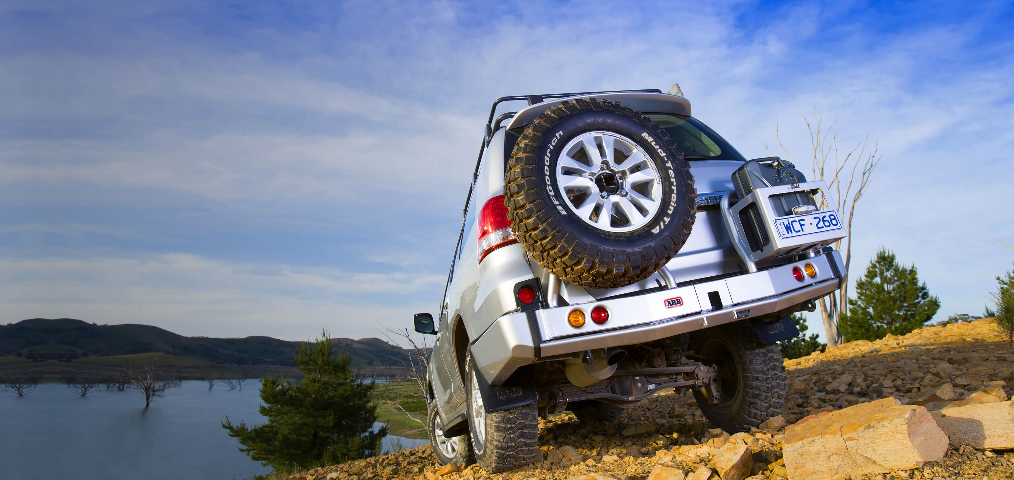ARB 4×4 Accessories | Rear Bars and Wheel Carriers - ARB 4x4