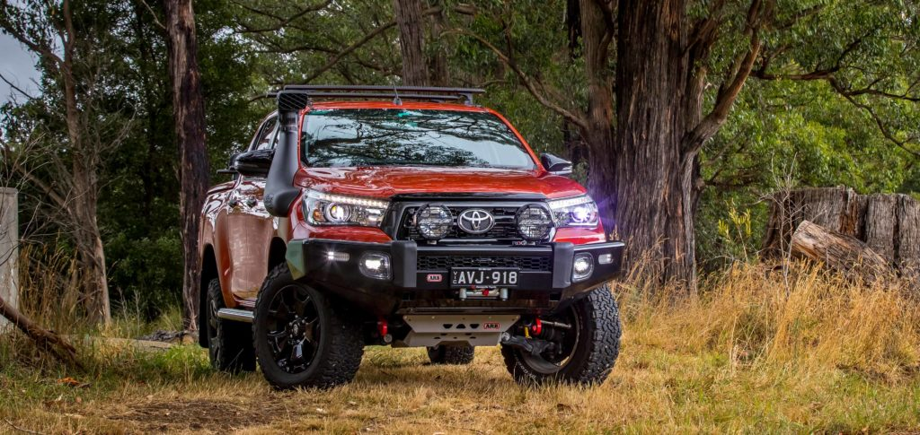 Arb 4 215 4 Accessories Side Rails Amp Side Steps Toyota Hilux