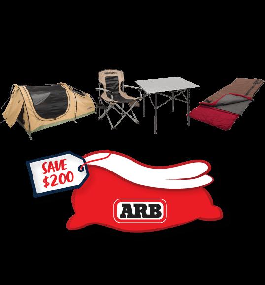 Camping Essentials Bundle - $676