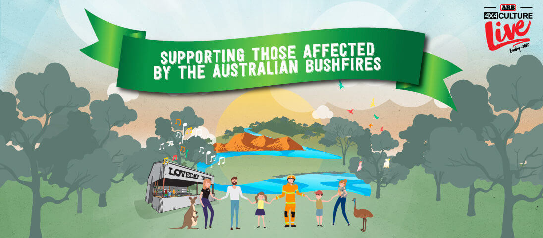 Supporting those affected by the Australian bushfires