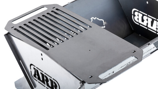 ARB Fire Pit includes a cooking grill