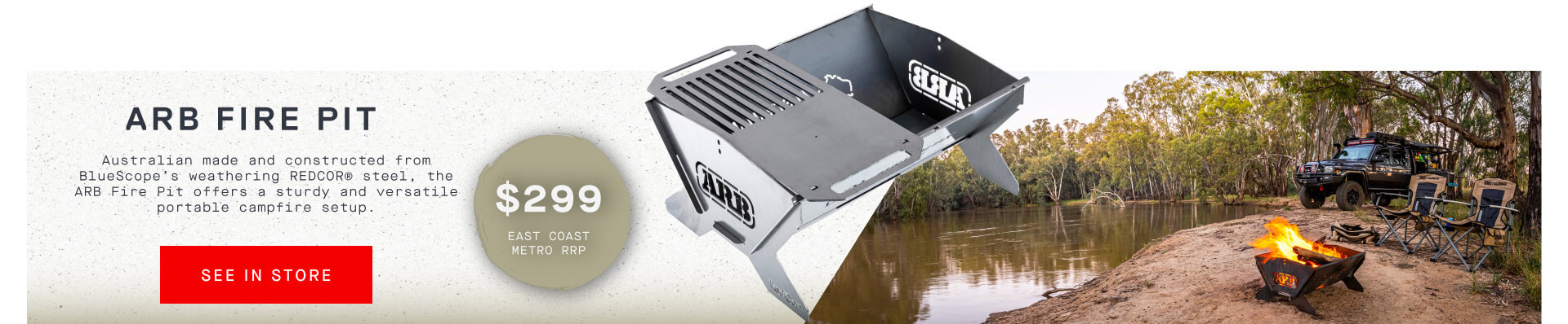 ARB Fire Pit - Find In Store