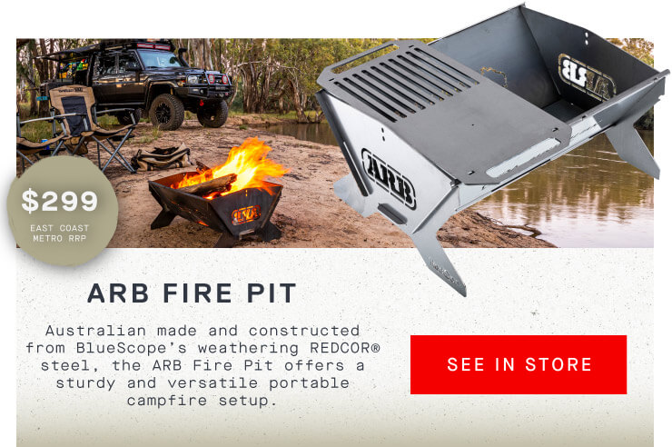 ARB Fire Pit Find In Store