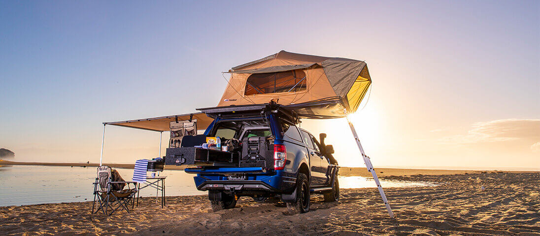 Take a break with ARB's new rooftop tent