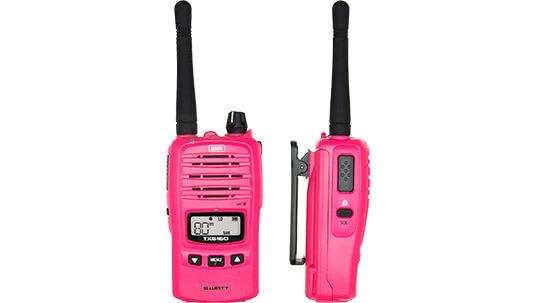 GME 1 Watt Handheld Radio Pink McGrath foundation TX6160XMCG