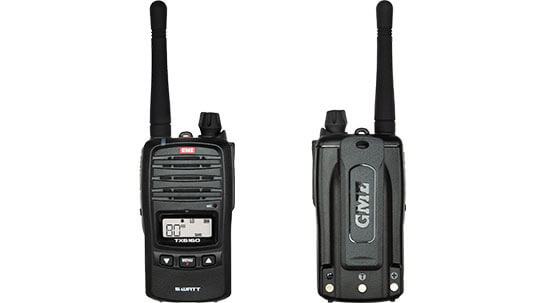 Handheld GME radio twin pack TX6160TP